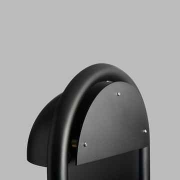 RØRHAT COVER PLATE FOR STAND BLACK